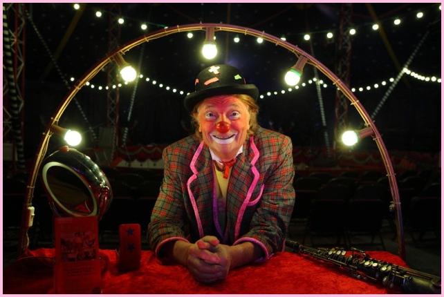 clown goûter anniversaire 77